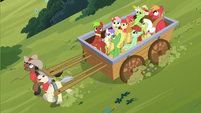 Ponies impressed S3E08