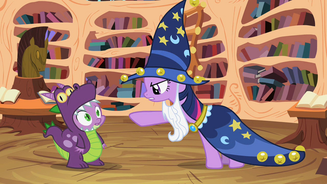 """File:Twilight """"Did you even read"""" S2E04.png"""