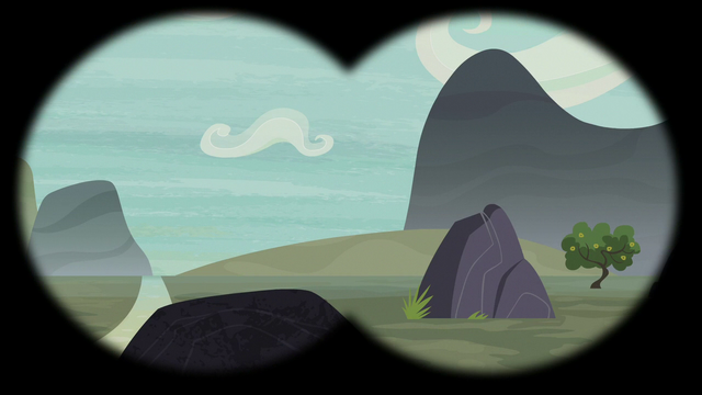 File:Empty mountain valley in Scootaloo's binocular vision S7E8.png