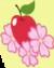 Apple Flora cutie mark crop S3E8