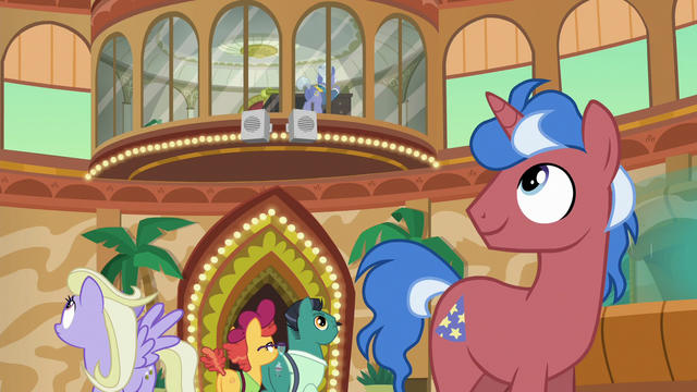 File:Ponies listening to Gladmane's address S6E20.png