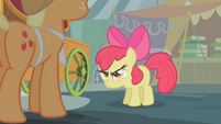 Apple Bloom pouting S1E12