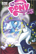 Comic issue 17 Hot Topic cover