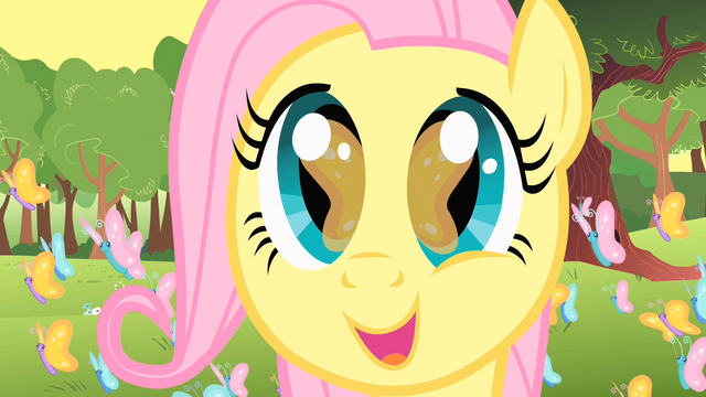 File:Filly Fluttershy amazed by her surroundings S1E23.png