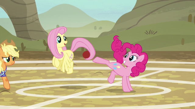 File:Fluttershy and Pinkie Pie having fun again S6E18.png