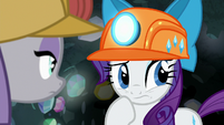 Rarity slightly uncomfortable S7E4