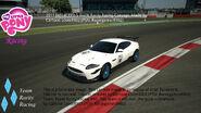 FANMADE MLP Racing Team Rarity's new car