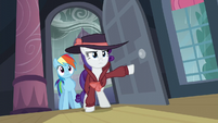Rarity and Rainbow Dash returns S5E15