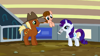 Rarity have you seen Applejack S2E14
