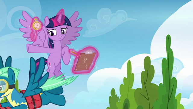 File:Sky Stinger flying toward the obstacle course S6E24.png