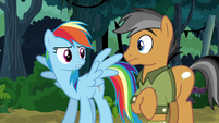 Rainbow Dash's feathers get ruffled again S6E13