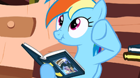 "Rainbow Dash ""he doesn't want to be bothered"" S2E18"