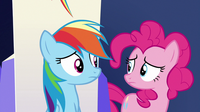 File:Rainbow and Pinkie look at each other S6E15.png
