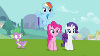 Rarity & Rainbow Dash huh S3E10
