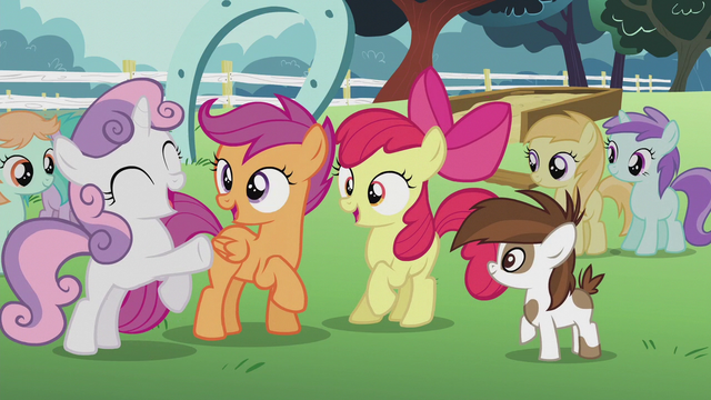 "File:Sweetie Belle ""Campaign manager cutie marks!"" S5E18.png"