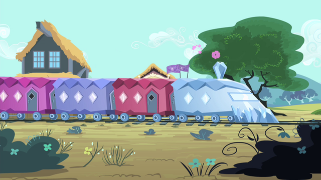 File:Cadance's train arrives S4E11.png