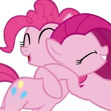 File:FANMADE Pinkie and Pinkamena hugging.jpg