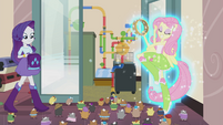 Fluttershy attracting hamsters EG2
