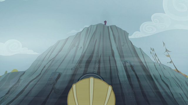 """File:Pinkie on the ledge """"Let me look"""" S5E8.png"""