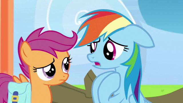 """File:Rainbow Dash """"cheer me on even when I lost!"""" S7E7.png"""