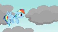Rainbow Dash nervous S03E13