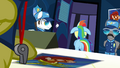Rainbow exiting Spitfire's office S3E7.png