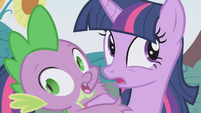 """Twilight and Spike """"we're...gonna..."""" S1E03"""