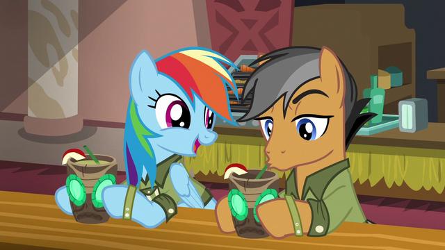 "File:Rainbow Dash ""so glad I ran into you"" S6E13.png"