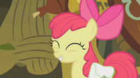 Apple Bloom cute laugh S1E09