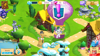 Igneous Rock and Cloudy Quartz in-game MLP mobile game