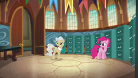 Mayor Mare walking and looking around S5E19