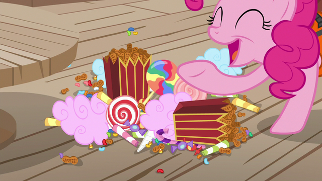 "File:Pinkie Pie ""lots of other super-yummy stuff!"" S6E22.png"