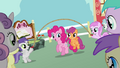 Pinkie Pie Scootaloo skipping S2E18.png