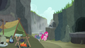 Pinkie and Maud return to Maud's campsite S7E4.png