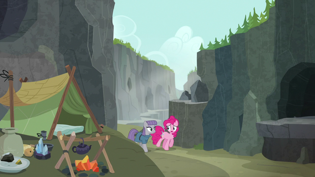 File:Pinkie and Maud return to Maud's campsite S7E4.png