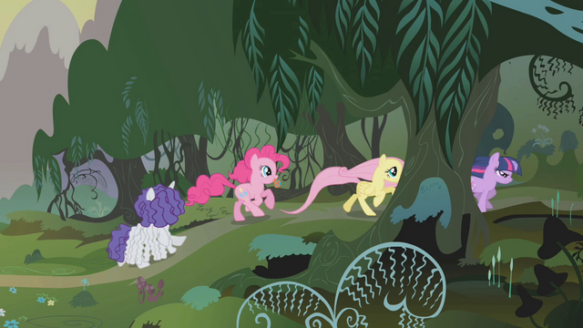 File:Twilight and friends race into the forest S1E09.png