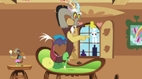 Discord and Angel staring S3E10