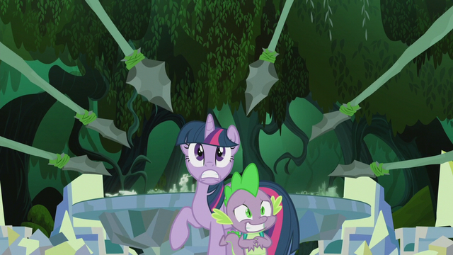 File:Twilight and Spike surrounded S5E25.png