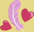 Feather Bangs cutie mark crop S7E8