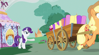 Rarity bye Applejack S3E8