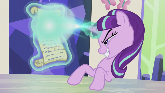 File:Starlight Glimmer casts magic on scroll S5E25.png
