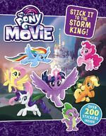 MLP The Movie Stick It to the Storm King! sticker book