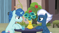 Party Favor and Night Glider sitting together S7E8.png