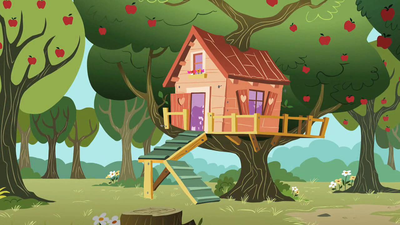 my little pony treehouse