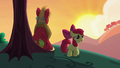 Apple Bloom about to head back to the barn S5E17.png