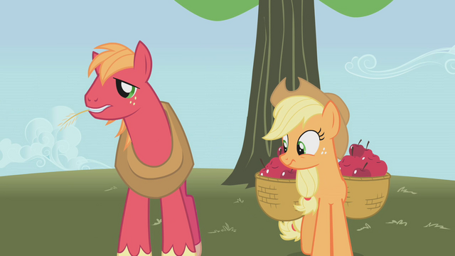 "File:Big Mac ""how do YOU like THEM apples?"" S1E04.png"