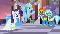 """Rainbow """"Not as nice as it is to meet you, sir"""" S5E15"""