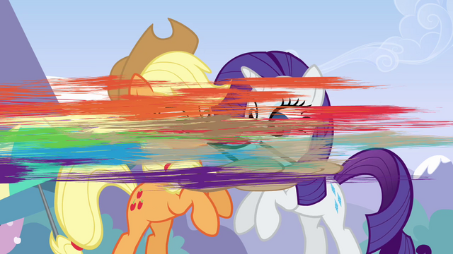 File:Rainbow snatching her bag S3E7.png