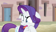 Rarity repulsed by village fashion S5E1