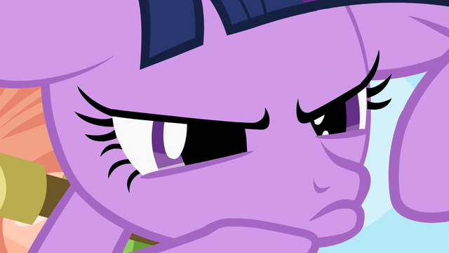 File:Twilight Sparkle rubbing her chin S2E10.png